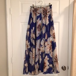 Chicwish Marvelous Floral Maxi Skirt
